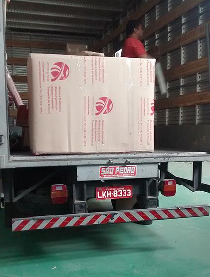 Empresa de Mudanças em Niterói com embalagens